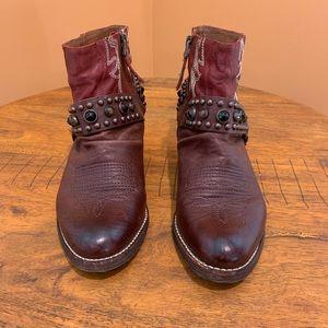 Sam Edelman Embellished Cowboy Booties